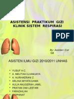 Praktikum Gizi Respirasi