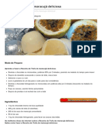 Showdereceitas.com-Receita de Trufa de Maracuj Deliciosa