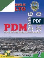 PLAN DE DESARROLLO MUNICIPAL EL ALTO