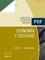 ECONOMIA Y SOCIEDAD - N 31 - JUNIO 2015 - PARAGUAY - PORTALGUARANI
