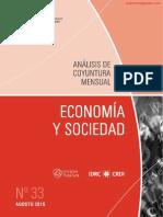 ECONOMIA Y SOCIEDAD - N 33 - AGOSTO 2015 - PARAGUAY - PORTALGUARANI