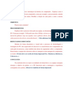 Modelo Relatorio Pratica - Manutenção de Computadores