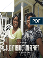 Blight Reduction Report New Orleans