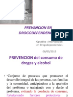 Prevencion en Drogodependencias