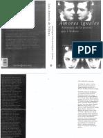 Amores Iguales, Antologia de La Poesia Gay y Lesbica- Luis Antonio de Villena