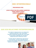 RELACIONES INTERPERSONALE
