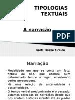 TIPOLOGIAS TEXTUAIS_ narração.pptx