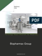 Biopharmax Brochure 2015