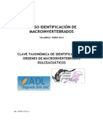 Clave Taxonómica de Macroinvertebrados (2)