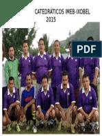Equipo Imeb 2015