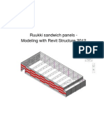 Ruukki- Panel Modelling With Revit RSt 2012