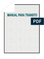 Manual Transito