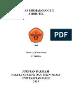 Tugas Farmakologi - Antibiotik - Reza Aryf