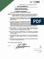 Iniciativa del Jefe de Gobierno  en materia de Desarrollo Urbano