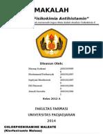 Analisis Fisikokimia Antihistamin