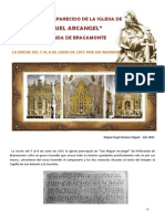 Patrimonio Desaparecido de La Iglesia De San Miguel Arcangel de Peñaranda de Bracamonte