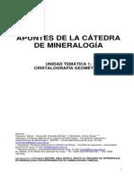 Apuntes de La Cátedra de Mineralogía