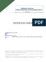 41065 - Sociologia Geral II - (Apontamentos) Cecilia Louro