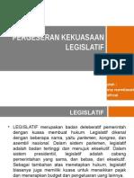 Pergeseran Kekuasaan Legislatif