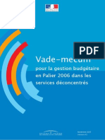 Gestion Service Deconcentres 2006