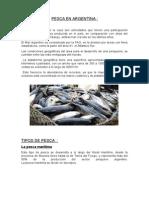 Pesca en Argentina y Mexico