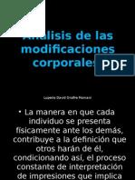 Análisis de Las Modificaciones Corporales