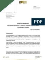 Informe Especial Laboral 014 2011 Nueva Ley de Salud y Seguridad en El Trabajo 23-8-11