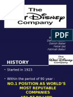 WALT DISNEY CASE ANALYSIS PPT
