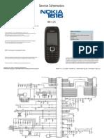 Nokia 1616 RH-125 Schematics v1