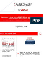 Presentación Meta INFOBRAS- D- 2015- II