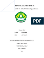 Tugas Pengolahan Limbah b3 Chernobyl