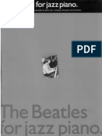 Book - The Beatles for Jazz Piano
