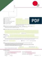 IELTS Application Form-2015