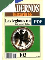 Cuadernos de Historia 16 103 Las Legiones Romanas 1985