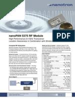 nanoPAN_5375_RF_Module_Flyer_V220_FOL_2009-09-21