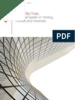 About RioTinto Brochure