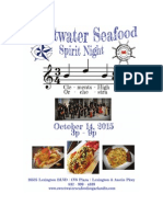 Sweetwater Seafood Spirit Night