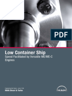 Low Container Ship Speed Facilitated By