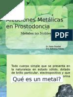 Aleaciones Metalicas No Nobles (Posgrado)