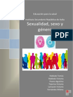 Sexualidad, Sexo y Género