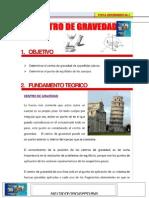 PUNTO DE GRAVEDAD