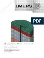 Soil Structure Interaction Modelling in Abaqus Thesis