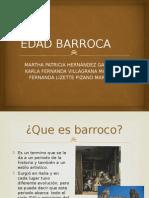 EDAD BARROCA