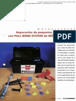 Reparación de Pequeñas Deformaciones Con PULL BOND SYSTEM de WURTH