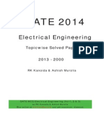 GATE EE Solved Paper by RK Kanodia