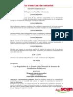 Ley Reguladora de La Tramitación Notarial