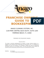 Franchise Owner's Guide to Bookkeeping 2012