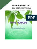 Composición Química de Productos Hortofrutícolas