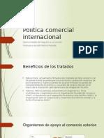 Política Comercial Internacional