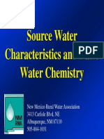 Source Water Characteristics